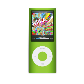 Tuto Photoshop pour créer le ipod nano chromatique de Apple